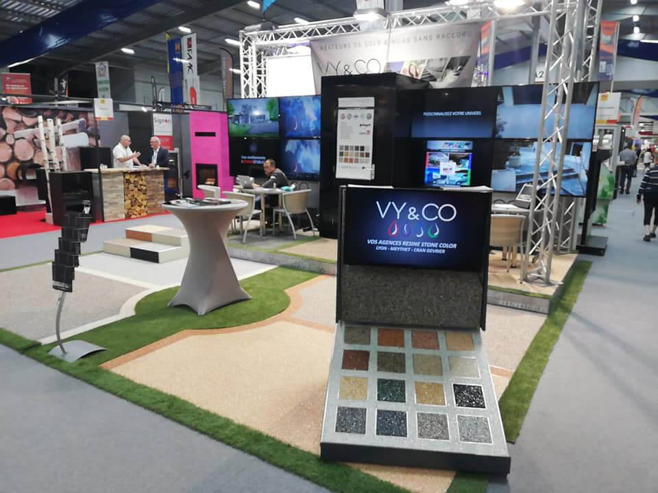 Stand Foire Comtoise