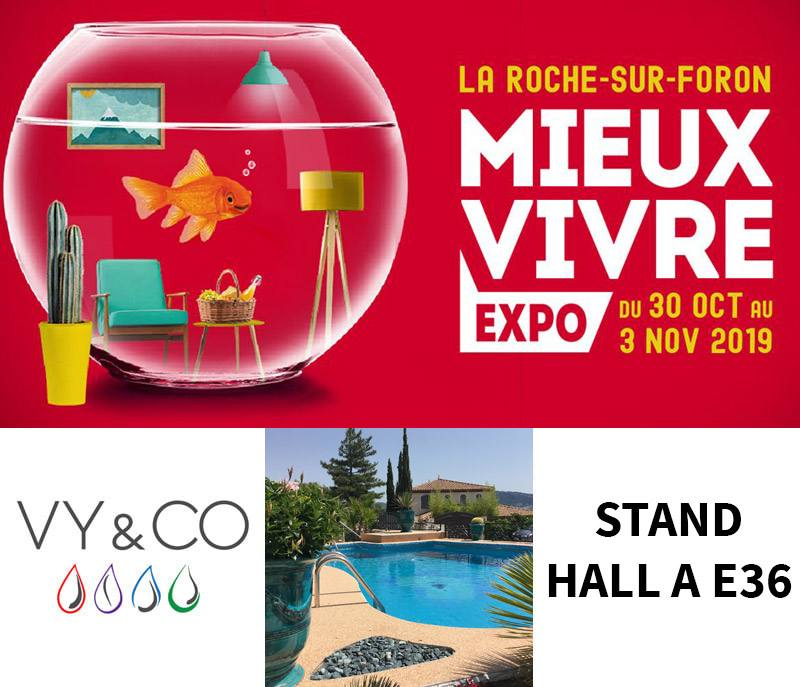 Mieux Vivre Expo - Stand E36 Hall A VY&CO